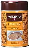 Monbana Schokoladenpulver Orange 250g Dose (mind. 32% Kakao), 1er Pack (1 x 250 g)