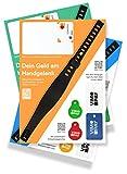 VIMpayGo Mini: NFC-Bezahlarmband für Ein bargeldloses Leben I Mastercard mit kostenlosem Armband, Schlüsselanhänger und Einkaufswagenchip