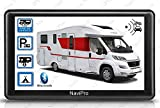 GPS Camping Car 7 Pouces HD Europe Gratuite A Vie Aires DE Camping Inclus