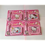 Hello Kitty Children's Watch Wallet Set For Kids Children Boys Girls Great Christmas Gift Gifts Present - Sold by Happy Bargains Ltd (Colours and Designs May Vary)