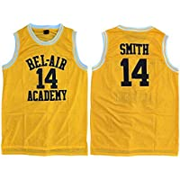 Die Fresh Prince of Bel Air Jersey Academy Golden genäht # 14 Will Smith Jersey