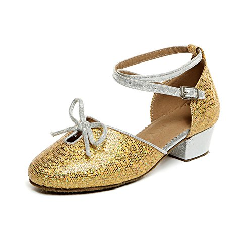 Latin Dance Schuhe für Kinder/ Latin Kinderschuhe für Mädchen/ dancing Shoes/Ballroom Dance Damenschuhe M
