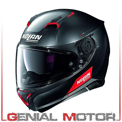 Casco Moto Nolan Helmet N87 Emblema N-com Cara Completa