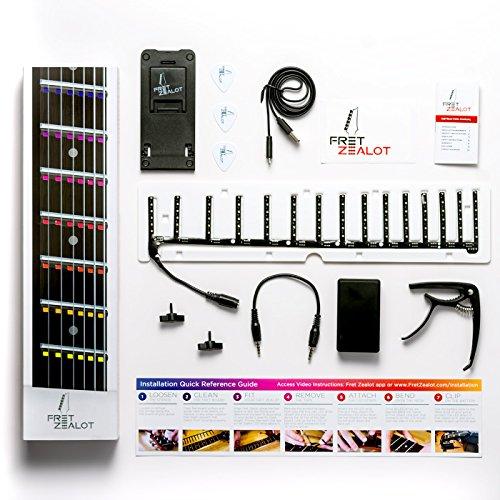 Accessoire d'apprentissage de la guitare Fret Zealot à LEDs