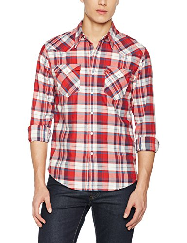 levis-mens-barstow-western-casual-shirt-multicoloured-suona-cherry-bomb-x-large