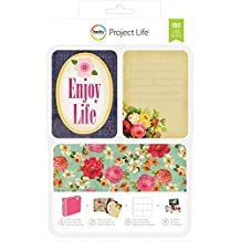 American Crafts 380340 Project Life card kit, multicolore