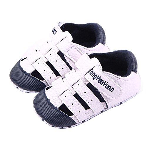 Babyschuhe Sandalen Geschlossene Neugeborene Baby Jungen Mädchen Kleinkind Schuhe Freizeit Mode Sommer Anti-Rutsch Weiche Sohle Lauflernschuhe Sneaker für 0-18 Monate - Kauf 2 Stück 10% sparen