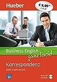 Business English ganz leicht Korrespondenz – Briefe, E-Mails und SMS: Buch + CD-ROM