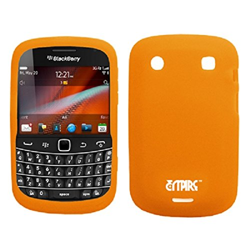 EMPIRE Orange Silicone Skin Case Tasche Hülle Cover for Verizon BlackBerry Bold 9930 Verizon Blackberry Bold