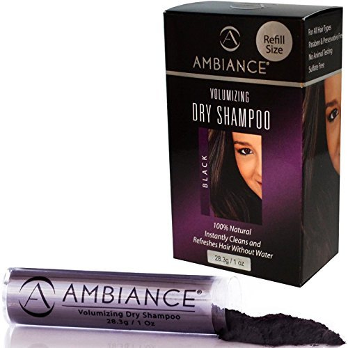 Ambiance Recharge shampoing sec black