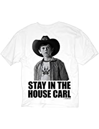LYYJY The Walking Dead Stay in the House Carl Men's T-Shirt