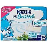 NESTLE P'tit Brassé Nature - 8 x 100g
