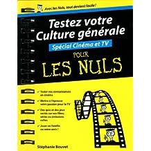 Testez votre culture générale - Spécial Cinéma/TV Poche Pour les Nuls