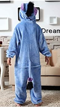 Udreamtime Kids Homewear Sleepsuit Animal Pajamas Halloween Cosplay Costume Donkey L 2