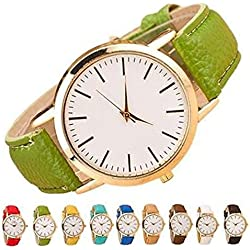 SSITG Women's Watch Classic Leather Band Analog Quartz Bracelet Watch Women Watch Gift Gift