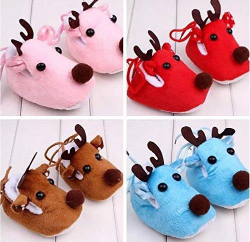 Doyime Cute Baby Kid Toddler Newborn 3D Cartoon Short Sock Slipper Shoe Children Bootie