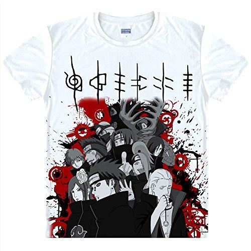 Naruto T-Shirt Kostüm Cosplay (Sakura Naruto Kostüm)