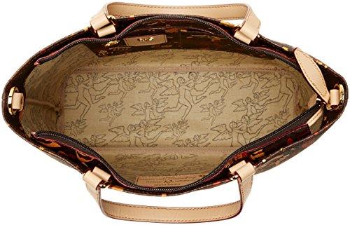 Timberland Damen Tb0m5155 Tornistertasche, 15.5x33.5x29 cm Weiß (Vintage Indigo)
