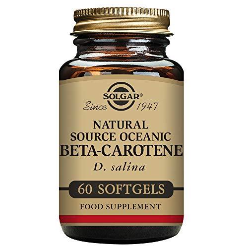 Solgar Beta-Caroteno Cápsulas blandas - Envase de 60