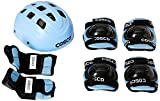 #2: Cosco Protective Kit, Junior (Sky Blue)