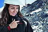 Bosch Professional Heiz-Jacke Größe M (Damen) mit 10,8V Akku 2,0 Ah (bis 6h Wärme), Ladegerät, beheizbare Softshell-Jacke Heat+ Jacket -