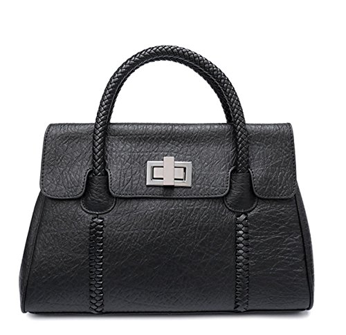 Borsa In Pelle Multifunzione Ms. Black