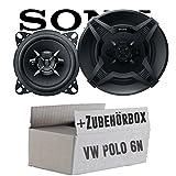 VW Polo 6N - Sony XS-FB1030 - 10cm 3-Wege Koax-System - Einbauset