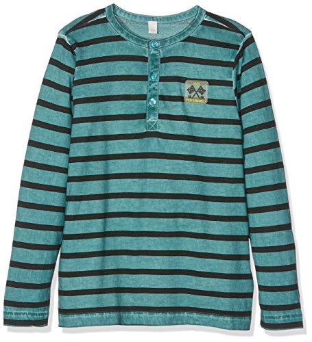 Esprit Kids Baby-Jungen T-Shirt, Blau (Teal 370), 134 (Herstellergröße: XS)