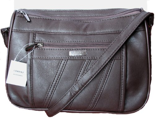 Lorenz, Borsa a spalla donna Medium Marrone (marrone)