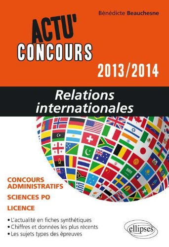 Relations Internationales 2013-2014 Concours Administratifs Sciences Po Licence