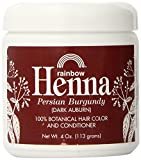 Rainbow Research Henna Hair Color and Conditioner Persian Burgundy Dark Auburn -- 4 oz