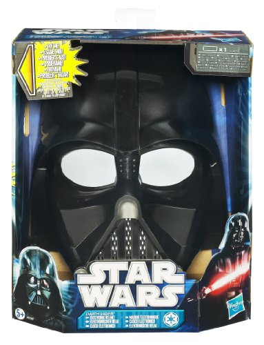 Dunkle Lord Sith Kostüm - Hasbro - Star Wars 29746360 - Force Tech Darth Vader Helm