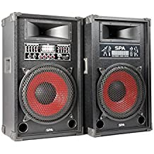 "Skytec Pareja altavoces PA DJ 12"" USB SD MP3"