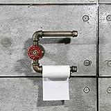 GYP Industrie Retro Wasserrohre Papiertuchhalter Persönlichkeit Regal 2 Schicht 20 * 16CM kaufen ( Farbe : #1 )
