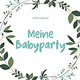 Fotoalbum Taufe Baby F/ü/ßchen in Perlmutt G/ästebuch