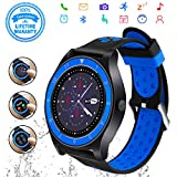 Best Relojes Android - Android Smartwatch Bluetooth,Impermeable Reloj Inteligente con Cámara,Bluetooth Tactil Review