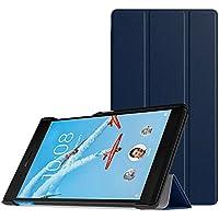 MoKo Funda Para Lenovo Tab 7 Essential - Premium Ultra Ligera Lightweight Shell Cover Case para Lenovo Tab 7 Essential Tableta 2017 Release, Índigo