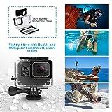 iTrunk Waterproof Protective Housing Case for GoPro Hero 7 Hero 2018 Hero 6 Hero 5 with Quick Release Bracket & Thumbscrew Accessories for Go Pro Hero 2018 Hero6 Hero5 Hero7 Black Action Camera