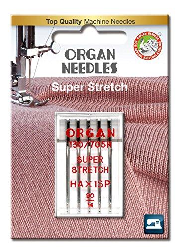 Organ Nadeln # 90/14hax1sp Overlock-Maschine X 5Nadeln
