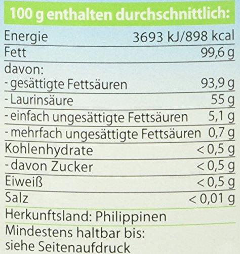 Dr. Goerg Premium Bio-Kokosöl - 1000 ml - 2
