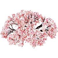 Lot de 25arbres à fleurs de Paysage pour modélisme 6,5cm