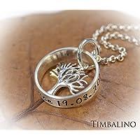 Namenskette, 925 Silber, Lebensbaum,