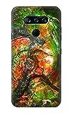 Innovedesire Ammonite Fossil Hülle Schutzhülle Taschen für LG V40, LG V40 ThinQ