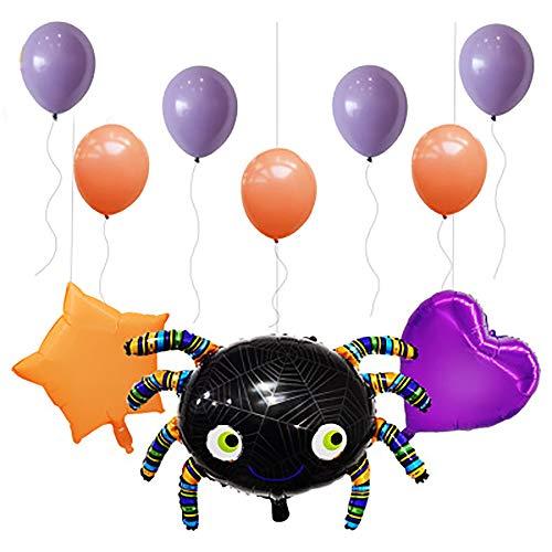 JLCP Halloween Spider Ballon Combo Bunting Spiral Pendant Ballons Festliche Feier Party Liefert Dekoration Requisiten Indoor Outdoor