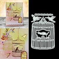 BINGHONG3 Birdcage DIY Metal Cutting Dies Stencil Scrapbooking Photo Album Stamp Paper Card Crafts Decor