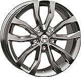 Autec Jantes UTECA 7,5 x 17 ET47 5 x 112 SIL pour Mercedes-Benz A B C CLA GLE M Classe R Viano Vito Classe V