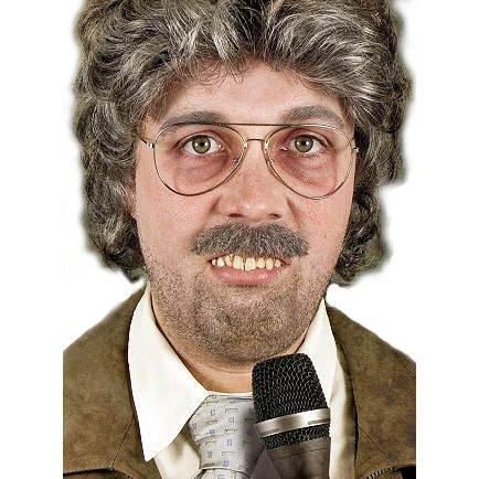 Kostüm Reporter - PARTY DISCOUNT Zähne Reporter von Dr. Dent