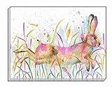 Artistic Tiere Rennender Hase Evans Lichfield Leinwanddruck 40x 30cm