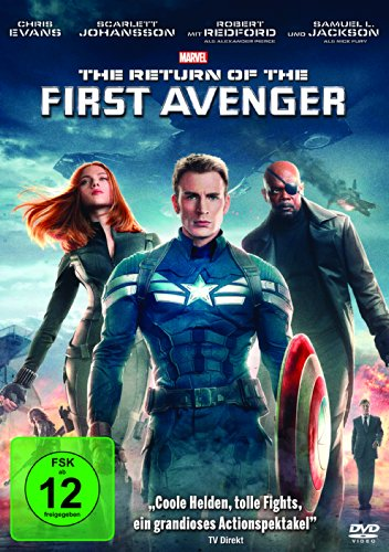 The Return of the First Avenger (Coverbild kann abweichen) (Scarlett-der Film Dvd)