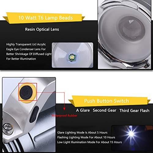 Zoom IMG-2 torcia led ricaricabile super luminoso
